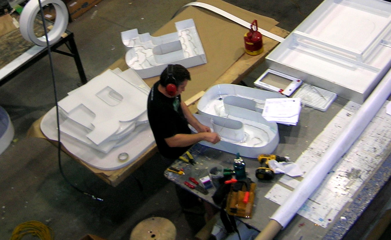 Turn key sign design sign manufacturing sign installation and sign - Sustainable Manufacturing